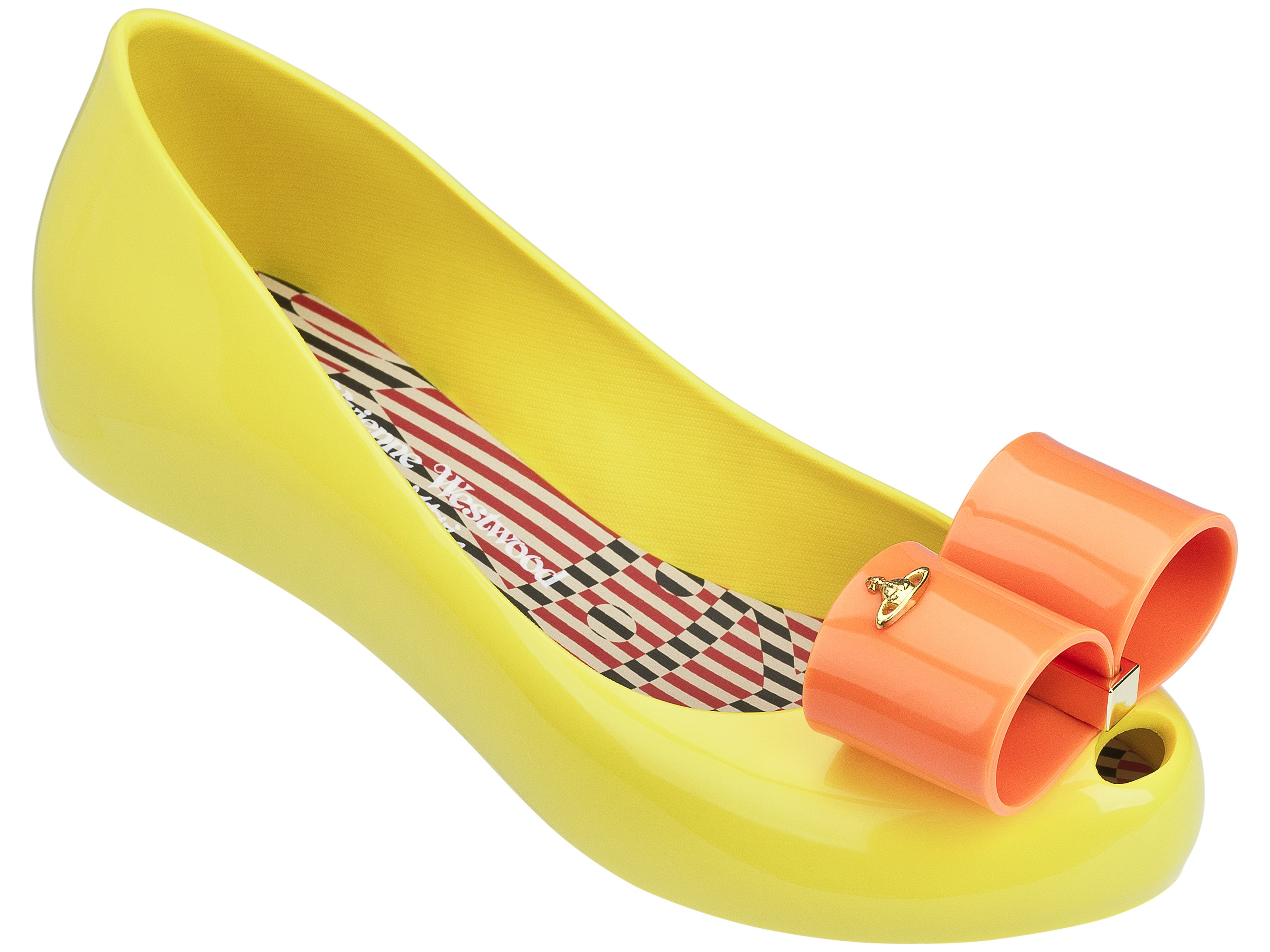 Vivienne Westwood Anglomania + Melissa Ultragirl XVII - Yellow / Orange